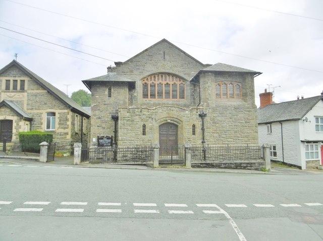 Llanrhaeadr -ym-Mochnant, church