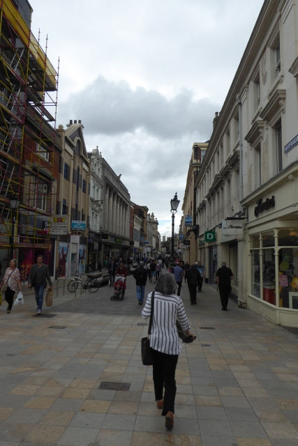 Scaffolding on Whitefriargate