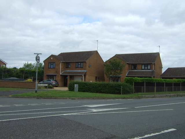 Houses on King Street, Wimblington