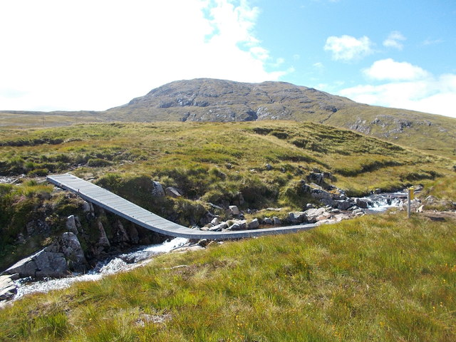 Footbridge over Allt Nan Giubhas