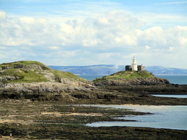 Mumbles Lighthouse (on Mumbles Head)