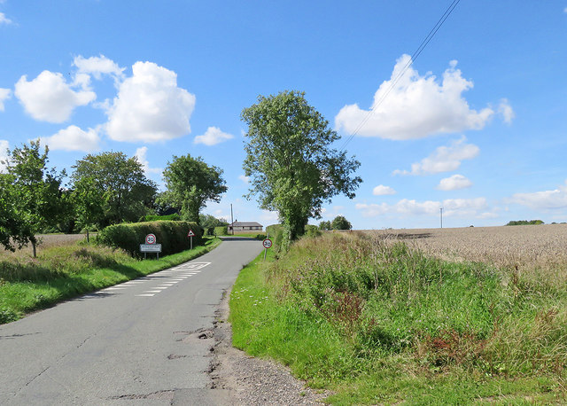 Nearing Withersfield