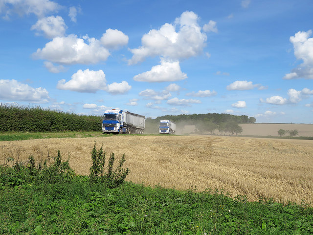 Harvest time in Suffolk