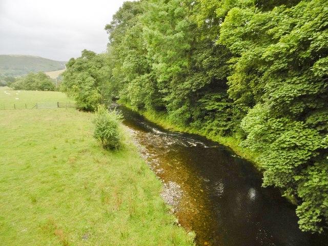 Tregeiriog, Afon Ceiriog