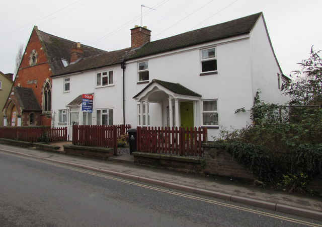 White houses, Culver Street, Newent