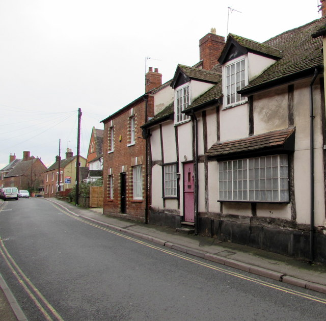 Grade II listed house, Culver Street, Newent