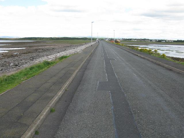 Causeway linking Roa Island to the Mainland