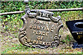 J2883 : William Parker family grave marker, Mallusk cemetery (August 2017) by Albert Bridge