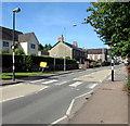 SO2414 : Zebra crossing, Main Road, Gilwern by Jaggery