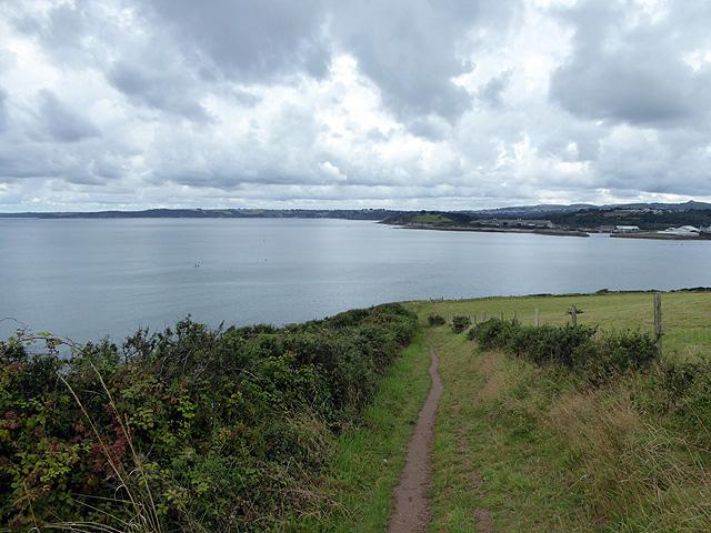On the South West coastal Path