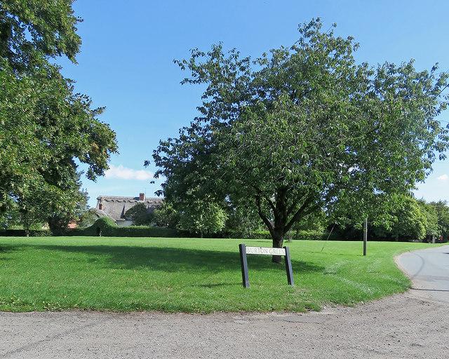 Withersfield: Burton Green