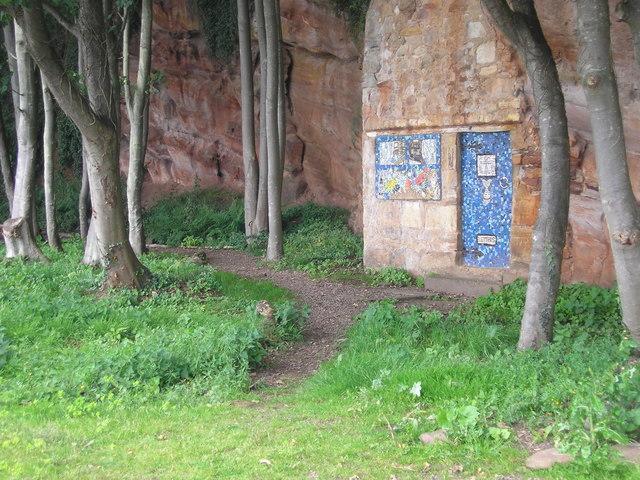 Tunnel entrance?