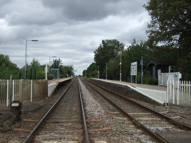 Manea Railway Station