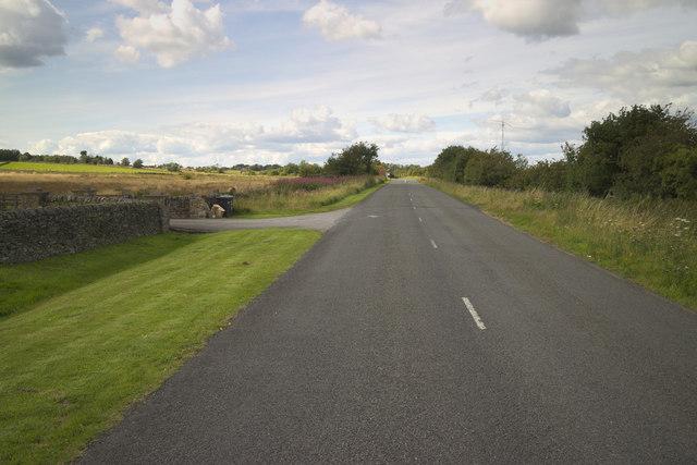 Meagill Lane near Plane Trees Farm