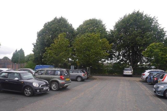 A car park in Bridgnorth