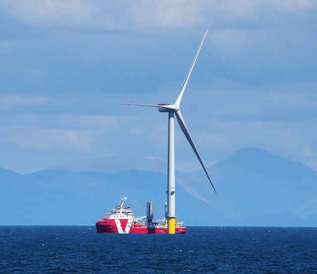Turbine, Walney Offshore Windfarm