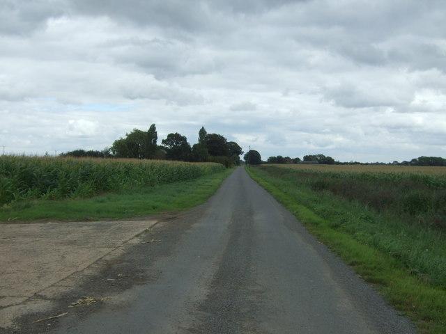 Day's Lode Road near Elm Grove Farm