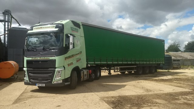 Spandlers curtain sider