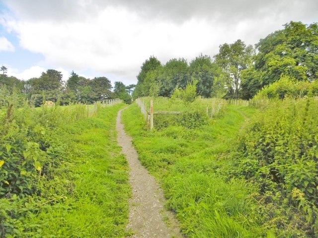 Much Wenlock, footpath junction