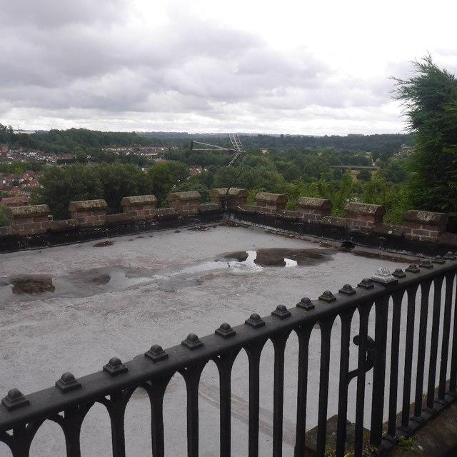Roof, Castle Walk