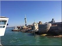 SZ6299 : Entering Portsmouth Harbour by Paul Coueslant