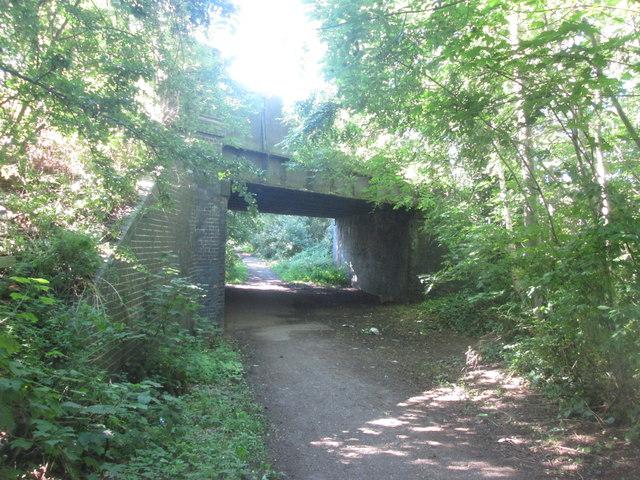 Bridge over the Trans Pennine Trail