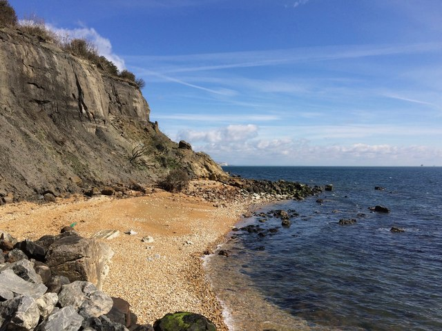 Close to Dunnose Point, Isle of Wight