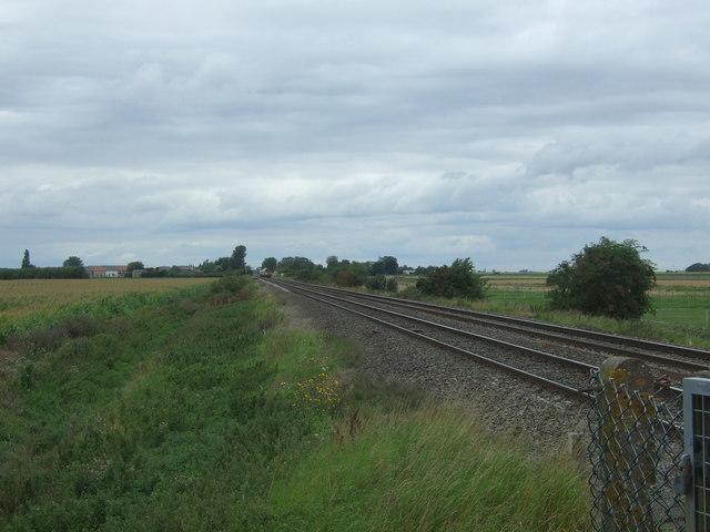 Railway towards March and Peterborough