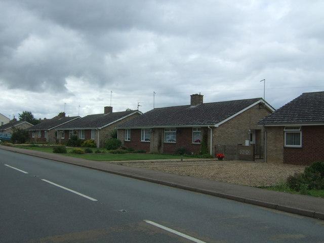 Bungalows on Station Road, Manea