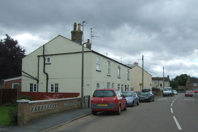 Houses on Station Road, Manea