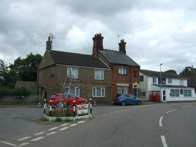 Houses on High Street, Manea