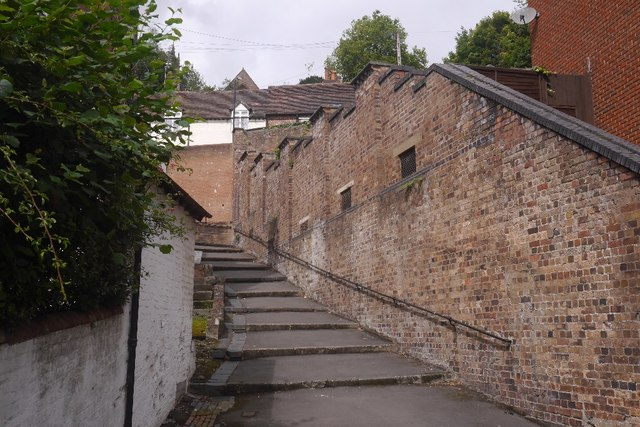 Steps, Bridgnorth