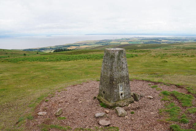 Trig point on Beacon Hill