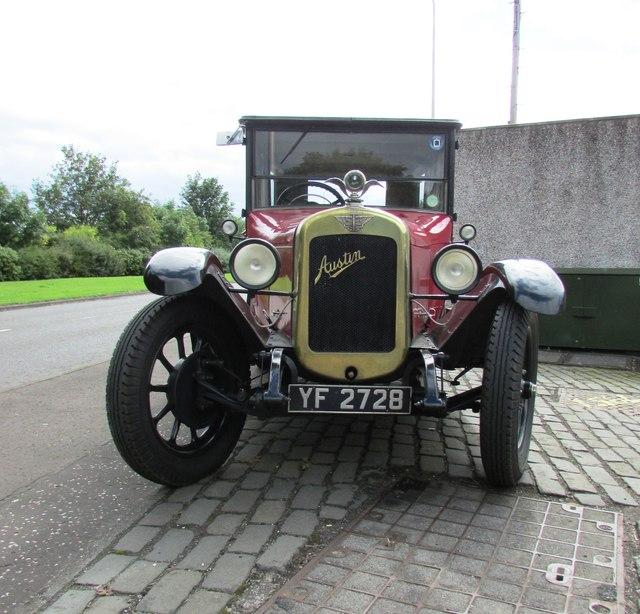 Vintage car, Methil