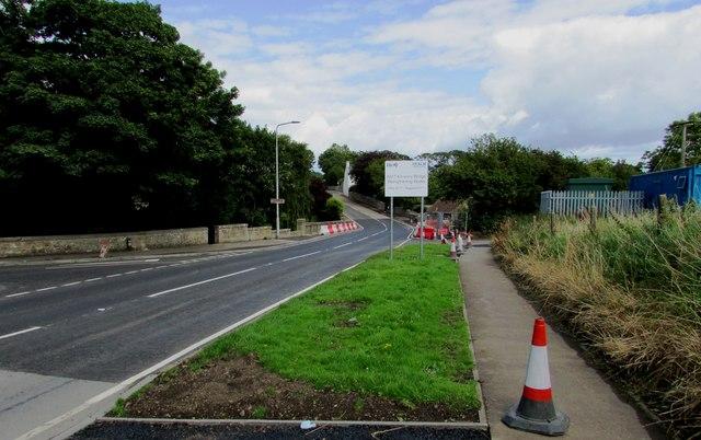 Kilrenny bridge improvements