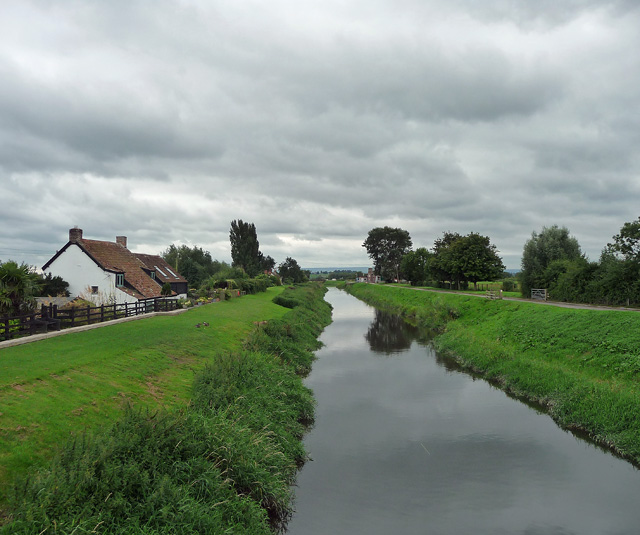 River Tone at Athelney