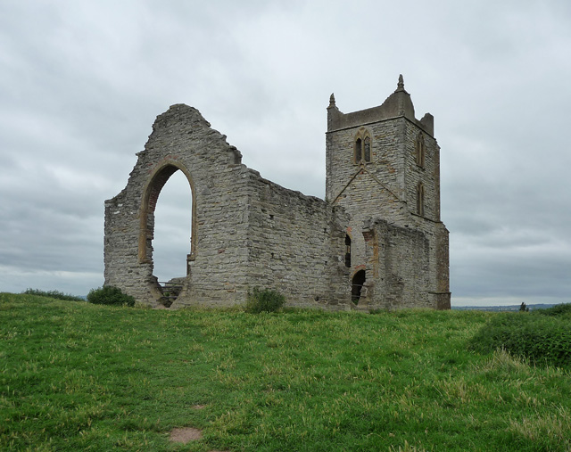 Ruined church, Burrowbridge