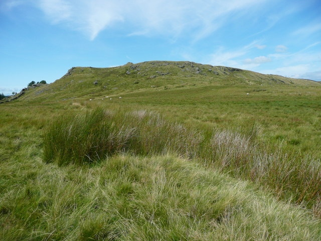View of Whelp Stone Crag from Holden Moor, Rathmell