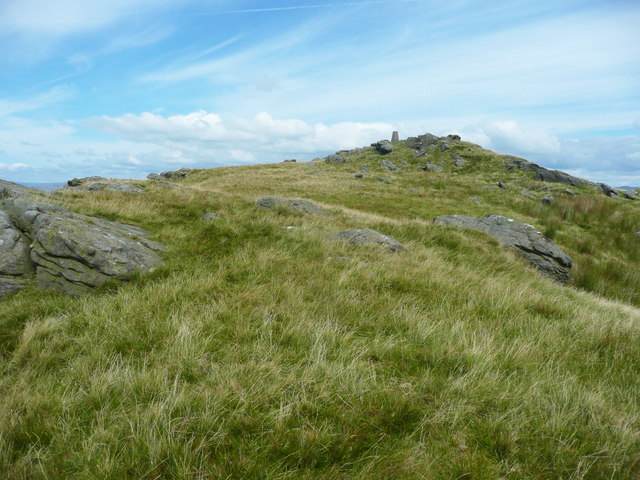 The summit of Whelp Stone Crag, Rathmell