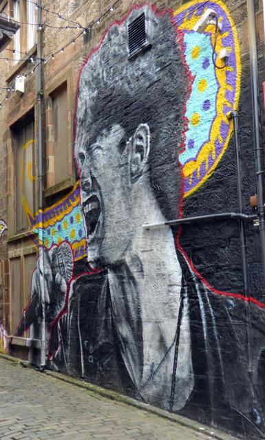 Paulo Nutini mural on Browns Lane