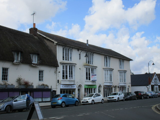 Shops in the Market Place, Pewsey