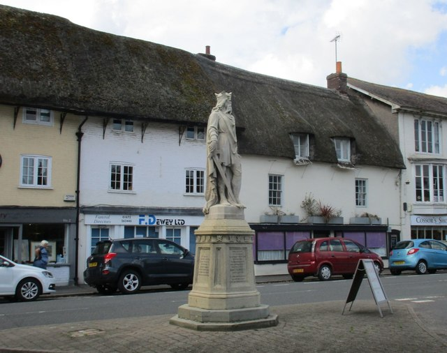 King Alfred at Pewsey