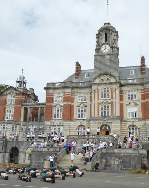 Britannia Royal Naval College - public open day