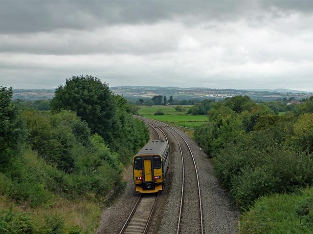 Railway near Stoke St Gregory