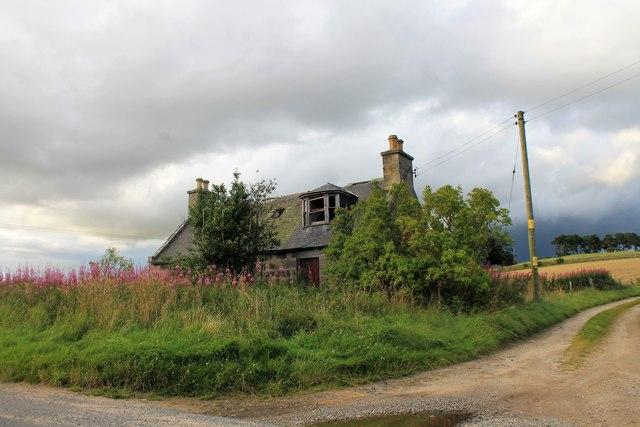 Ruin at Scantcairn