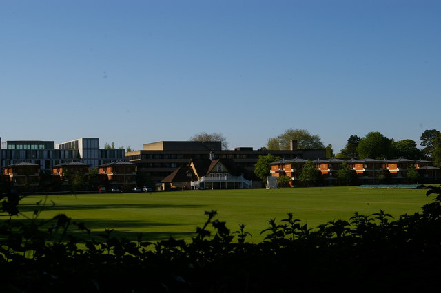 Sports grounds off St Cross Road