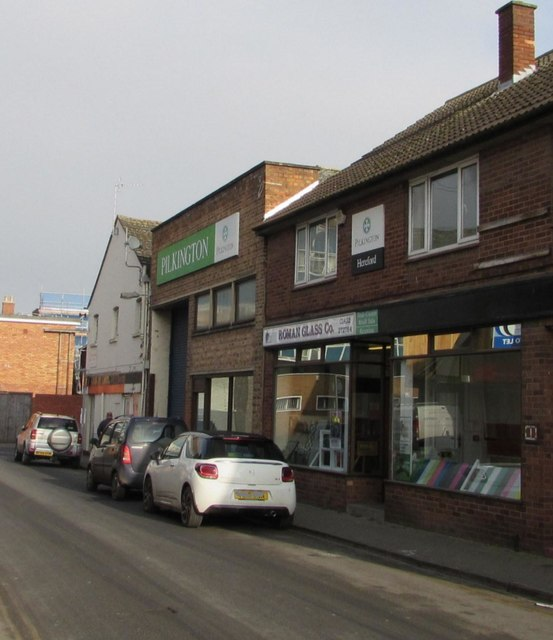 Roman Glass shop in Hereford