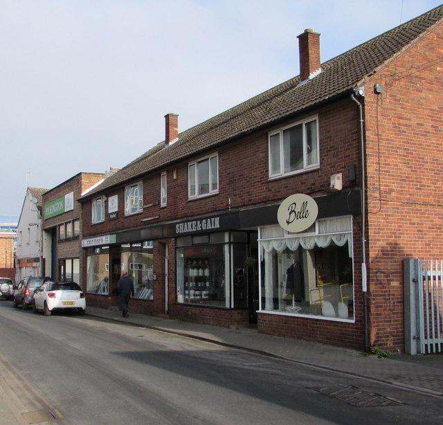 Berrington Street businesses, Hereford