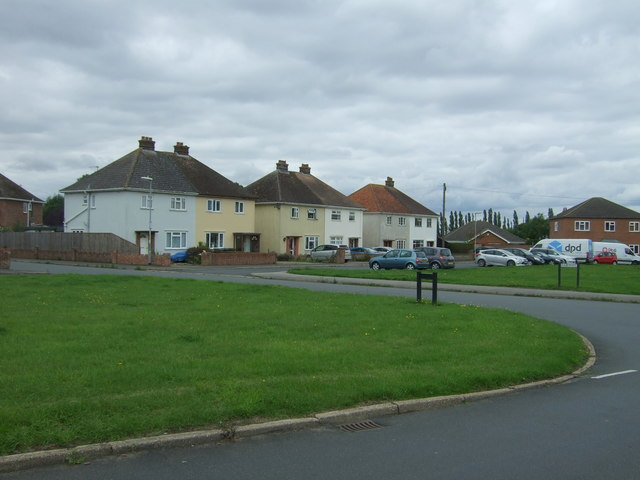 Houses on Westbourne Road, Chatteris