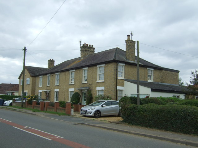 Houses on London Road, Chatteris